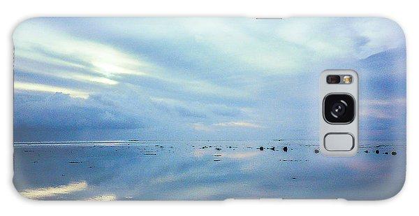 Tahiti At Sunset Galaxy Case