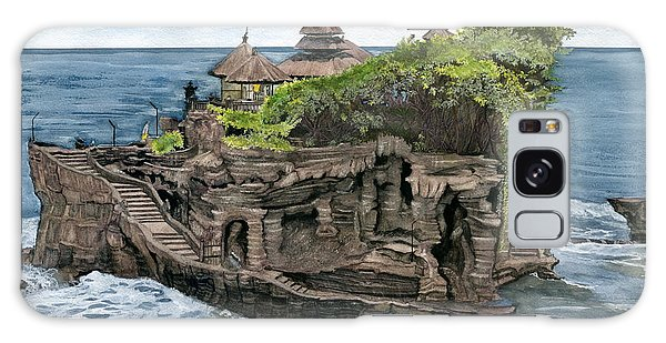 Tanah Lot Temple Bali Indonesia Galaxy Case