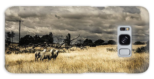 Expanse Galaxy Case - Tasmania Landscape Of An Outback Cattle Station by Jorgo Photography - Wall Art Gallery