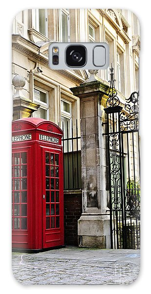 Telephone Box In London Galaxy Case