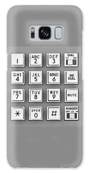Telephone Touch Tone Keypad Galaxy Case