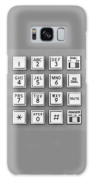 Telephone Touch Tone Keypad Galaxy Case