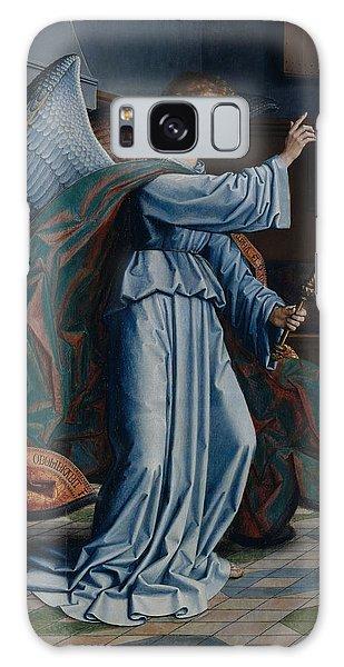 Annunciation Galaxy Case - The Annunciation by Gerard David