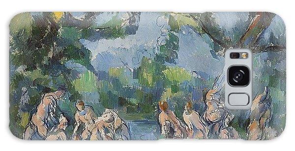 Art Institute Galaxy Case - The Bathers by Paul Cezanne