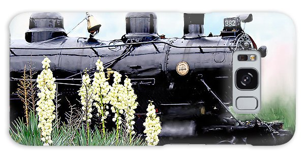 The Black Steam Engine Galaxy Case