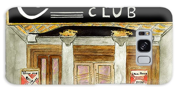 The Cotton Club Galaxy Case by AFineLyne