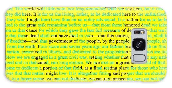 Us Civil War Galaxy Case - The Gettysburg Address by Brian Reaves