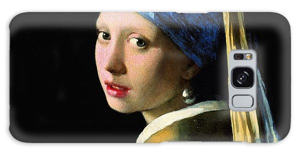 Girl With A Pearl Earring Galaxy Case - The Girl With A Pearl Earring by Johannes Vermeer