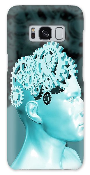 Scientific Illustration Galaxy Case - The Human Mind by Victor Habbick Visions