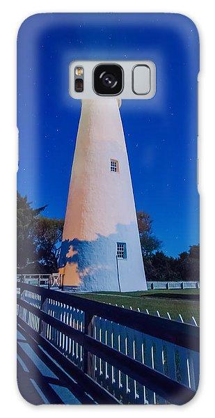 The Ocracoke Lighthouse On Ocracoke Island On The North Carolina Galaxy Case