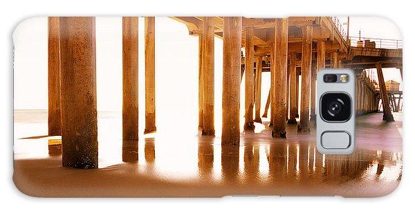 Board Walk Galaxy Case - The Pier II by Heidi Smith