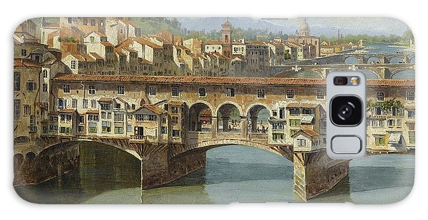 The Ponte Vecchio Florence Galaxy Case