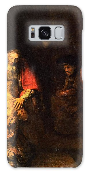 The Prodigal Son Galaxy Case by Rembrandt