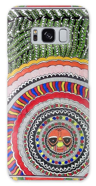 Madhubani Galaxy Case - The Rising Sun by Nikita Agarwal