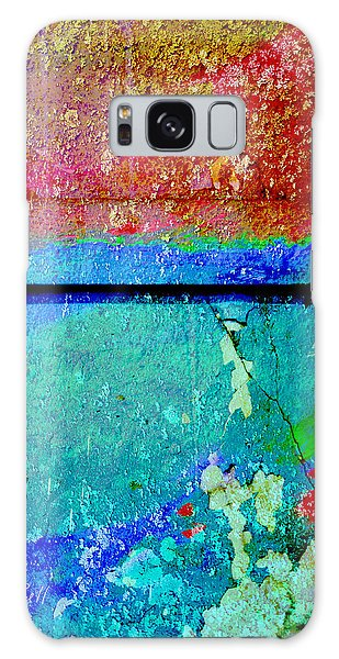 The Wall Abstract Photograph Galaxy Case