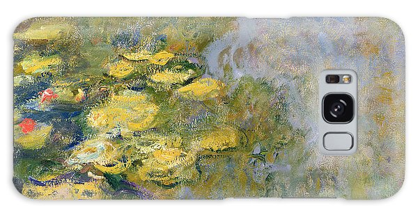 Impressionism Galaxy Case - The Waterlily Pond by Claude Monet