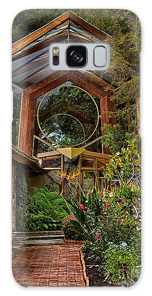 The Wayfarers Chapel Galaxy Case by Donna Greene