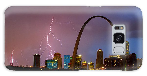 Thunderstorm Over St Louis Galaxy Case by Garry McMichael