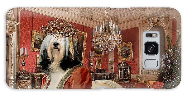 Tibetan Terrier Art Canvas Print Galaxy Case