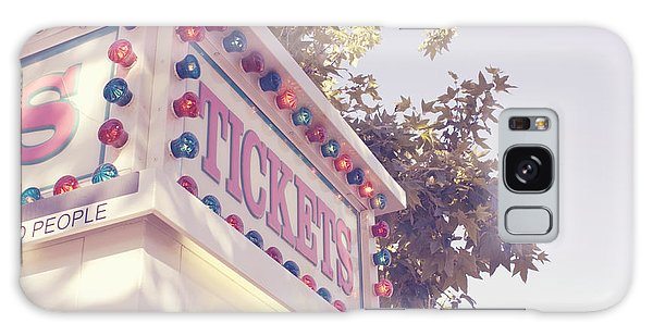 Tickets In Pink Galaxy Case