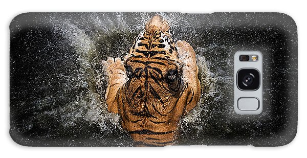 Splash Galaxy Case - Tiger Splash by Win Leslee