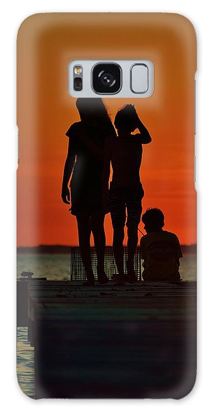 Time With Friends Galaxy Case