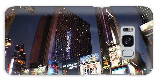 Times Square Nyc Galaxy Case by Rogerio Mariani