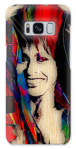 Celebrities Galaxy Case - Tina Turner Collection by Marvin Blaine