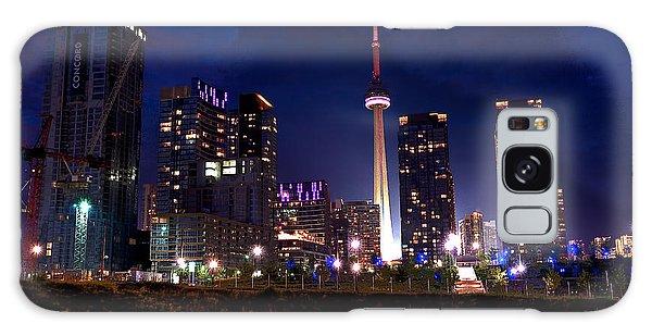 Toronto By Night Galaxy Case