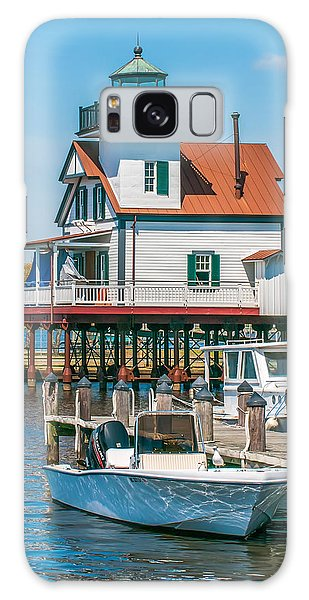 Town Of Edenton Roanoke River Lighthouse In Nc Galaxy Case
