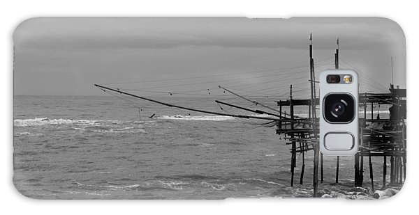 Trabocco On The Coast Of Italy  Galaxy Case