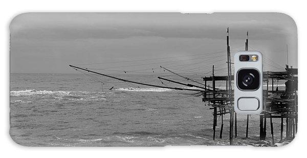 Trabocco On The Coast Of Italy  Galaxy Case by Andrea Mazzocchetti