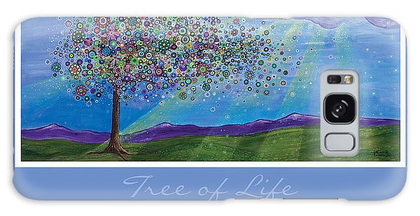 Tree Of Life Galaxy Case by Tanielle Childers