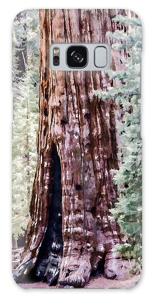 Tree Trunk Galaxy Case