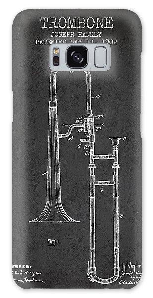 Trombone Galaxy Case - Trombone Patent From 1902 - Dark by Aged Pixel