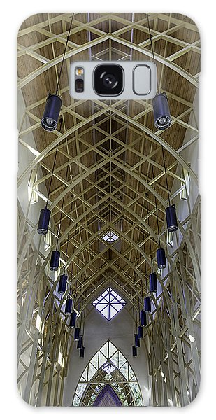 Trussed Arches Of Uf Chapel Galaxy Case by Lynn Palmer