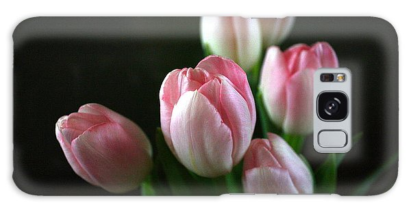 Tulips On Display Galaxy Case by Cathy Dee Janes