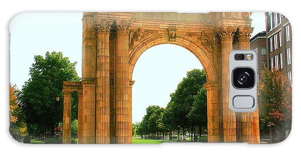 Union Station Arch Galaxy Case by Laurel Talabere
