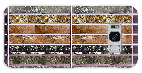 Unique Abstracts Using Multiple Rareearth Stones Crystals Textures And Patterns Galaxy Case