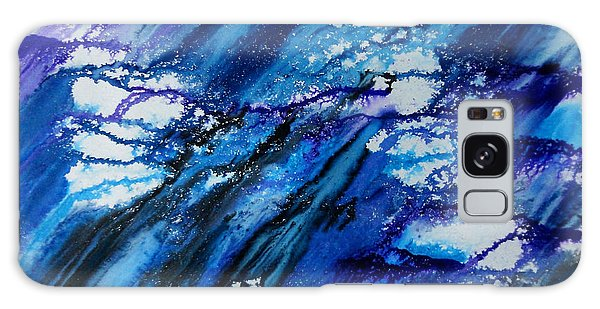 Blue Wind Galaxy Case