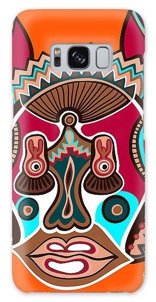 Dragon Galaxy S8 Case - Unusual Ukrainian Traditional Tribal by Karakotsya