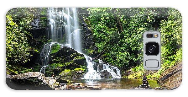 Upper Catabwa Falls Galaxy Case by Serge Skiba