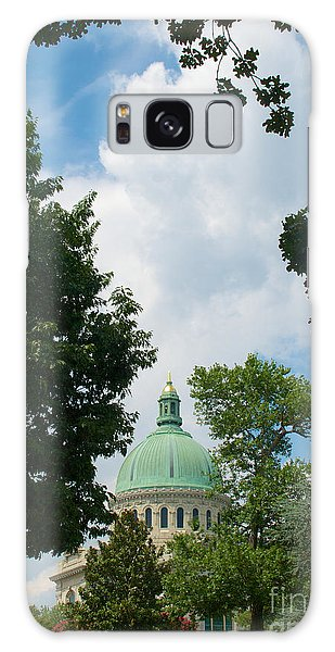Us Naval Academy Chapel Dome Galaxy Case