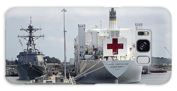 Us Naval Hospital Ship Comfort Galaxy Case