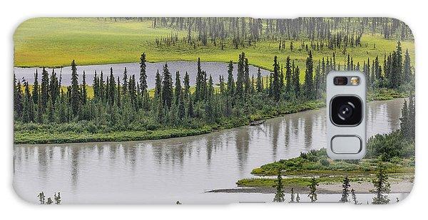 Boreal Forest Galaxy Case - Usa, Alaska, Nenana River Valley by Jaynes Gallery