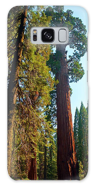 Kings Canyon Galaxy Case - Usa, California, Sequoia, Kings Canyon by Bernard Friel