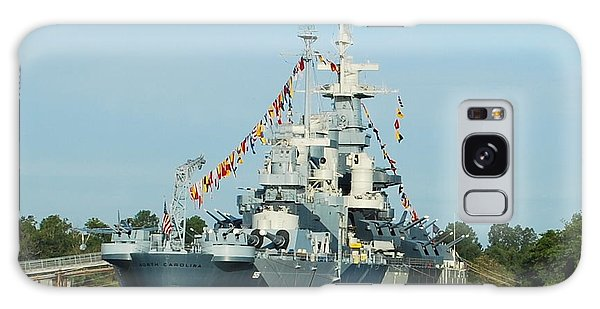 Uss North Carolina Battleship Galaxy Case