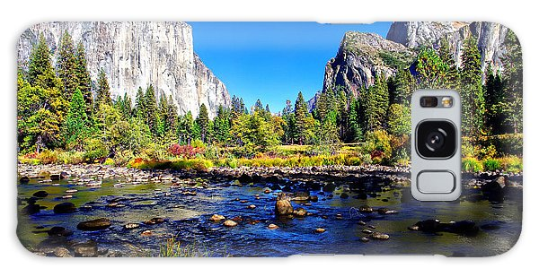 Valley View Yosemite National Park Galaxy Case