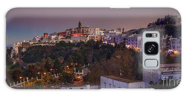 Vejer De La Frontera Panorama Cadiz Spain Galaxy Case