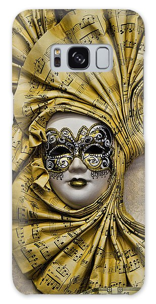 Venetian Carnaval Mask Galaxy Case by David Smith